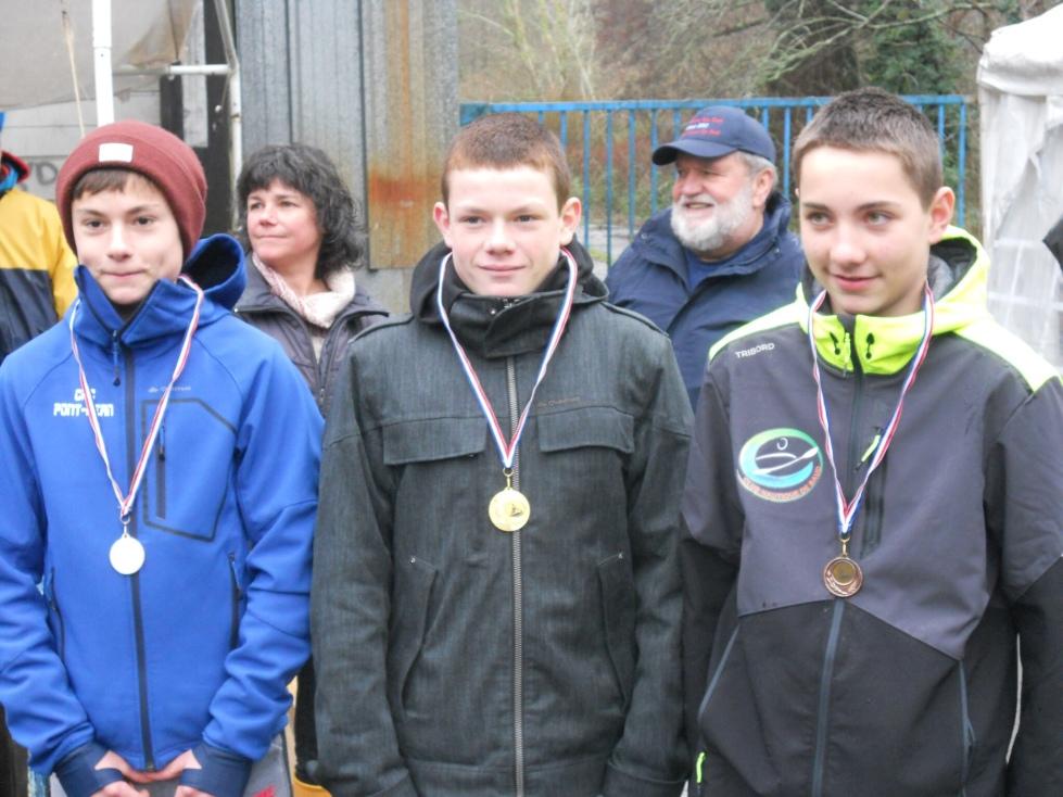3ème place de Thibault en sprint