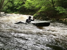 Mickael Hybois kayak homme club nautique baud1